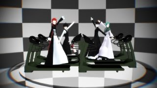 【MMD x Monochrome Factor】 Here It Goes Again