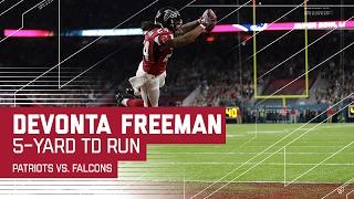 Devonta Freeman Runs in the TD! | Patriots vs. Falcons | Super Bowl LI Highlights