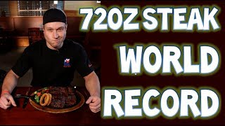 FASTEST TIME TO EAT A 72oz STEAK (New World Record) | Furious Pete