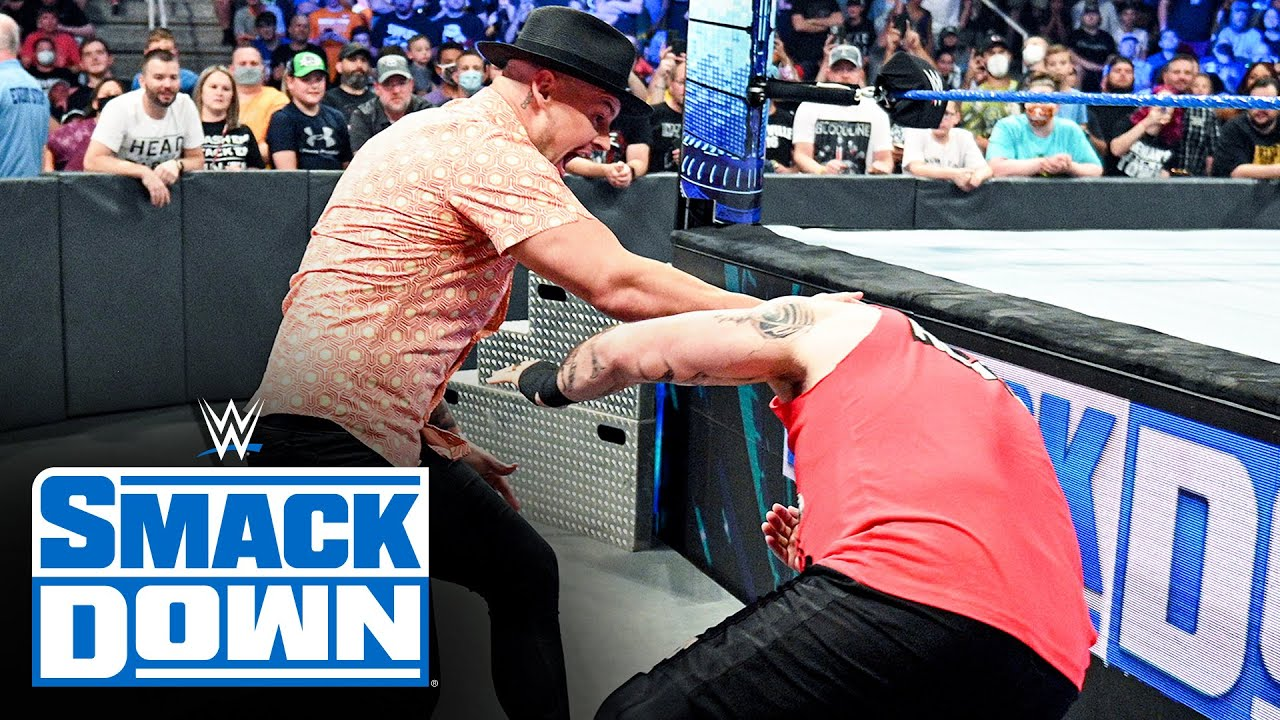Download Happy Corbin unleashes a vicious assault on Kevin Owens: SmackDown, Sept. 17, 2021