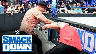 Happy Corbin unleashes a vicious assault on Kevin Owens: SmackDown, Sept. 17, 2021