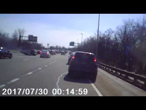Mile 159 Parkway South 3/21/17 about 3:40 pm crash at 2:10 in video