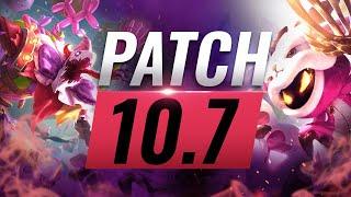 Best Champions TIER List – League of Legends Patch 10.7