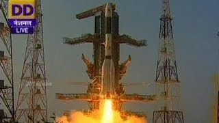 India launches communications satellite into space