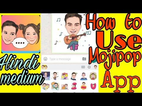 Mojipop App//Mozipop Gif Maker App//How To Use Mojipop App  ;AKG TECHNICAL