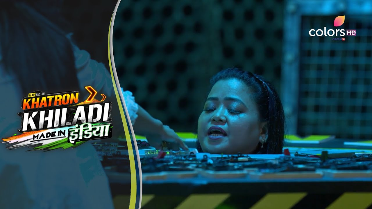 Download Khatron Ke Khiladi Made In India   Bharti Helps Jasmin In Collecting Cheese