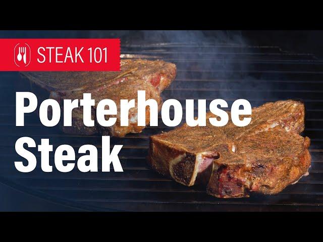Smoked and Seared Porterhouse Steak