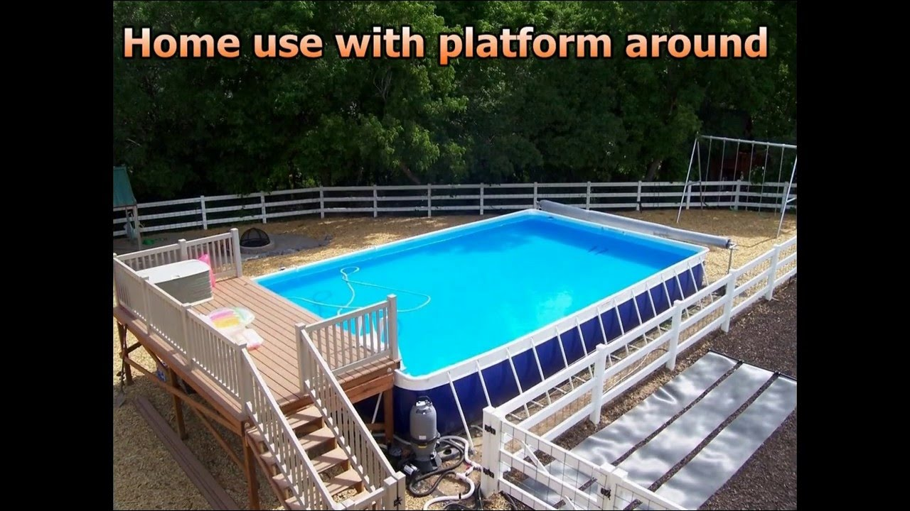 fast set up - easy transport-low cost above ground swimming pool for any  water games