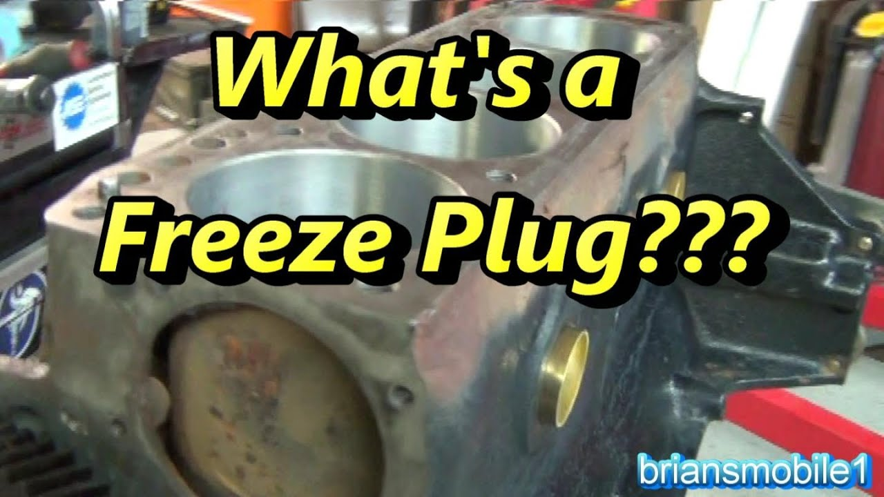 Whats A Freeze Plug Youtube Peugeot Engine Cooling Diagram