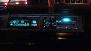 checking out the lights on a mid 80s buick park avenue