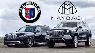 BIG MONEY! 2021 Maybach GLS 600 vs BMW Alpina XB7
