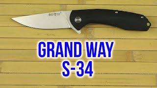 Розпакування Grand Way S-34