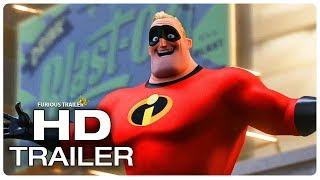 INCREDIBLES 2 Best Scenes - All Fight Scenes & Funny Scenes (2018) Movie CLIP HD