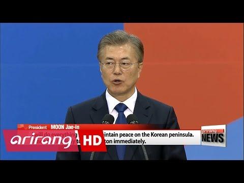Pres. Moon vows to do everything to build peace on Korean peninsula