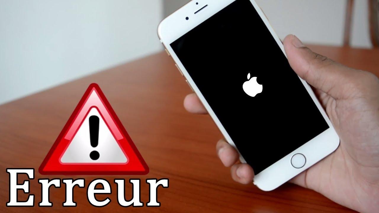 CORRECTIF : IPHONE NE S'ALLUME PAS / COINCÉ DANS LA BOUCLE DE BOOT / MOT DE PASSE OUBLIÉ