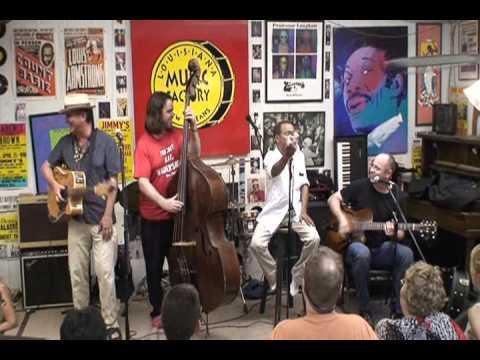 John Boutte @ Louisiana Music Factory JazzFest 2009 - PT 2