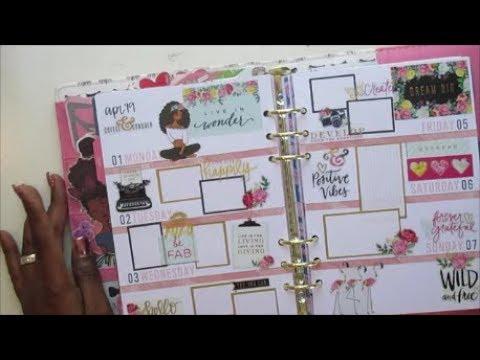 Agenda 52 A5 || Plan With Me || April 1 - 7, 2019