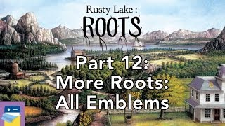 Rusty Lake Roots: Walkthrough Part 12: More Roots (All 9 Gold Emblems)