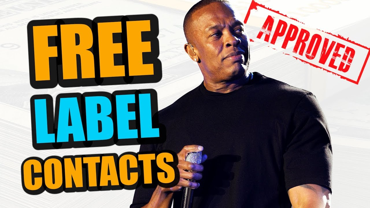 Every Record Labels A&R Contacts List (FREE)