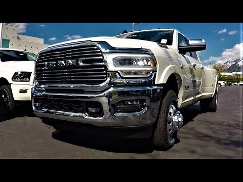 2019 Ram 3500 Laramie Dually: The Most Capable Ram Ever!