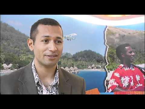 Iowane Naivalurua, Marketing Officer, Tourism Fiji @ ATM 2011