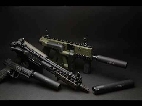 Griffin Armament Revolution Pistol Silencer Mod 3
