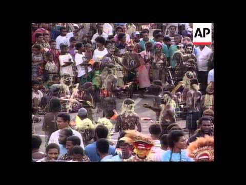Philippines/Papua New Guinea - Pope