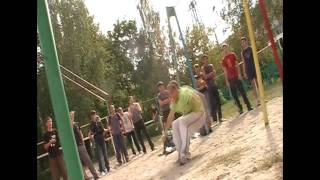 Freerun tricking турники Bryansk (Part 2)