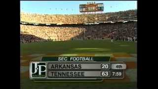 2000 Tennessee 63 Arkansas 20