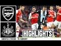 Arsenal 4 Newcastle United 0: Brief Highlights