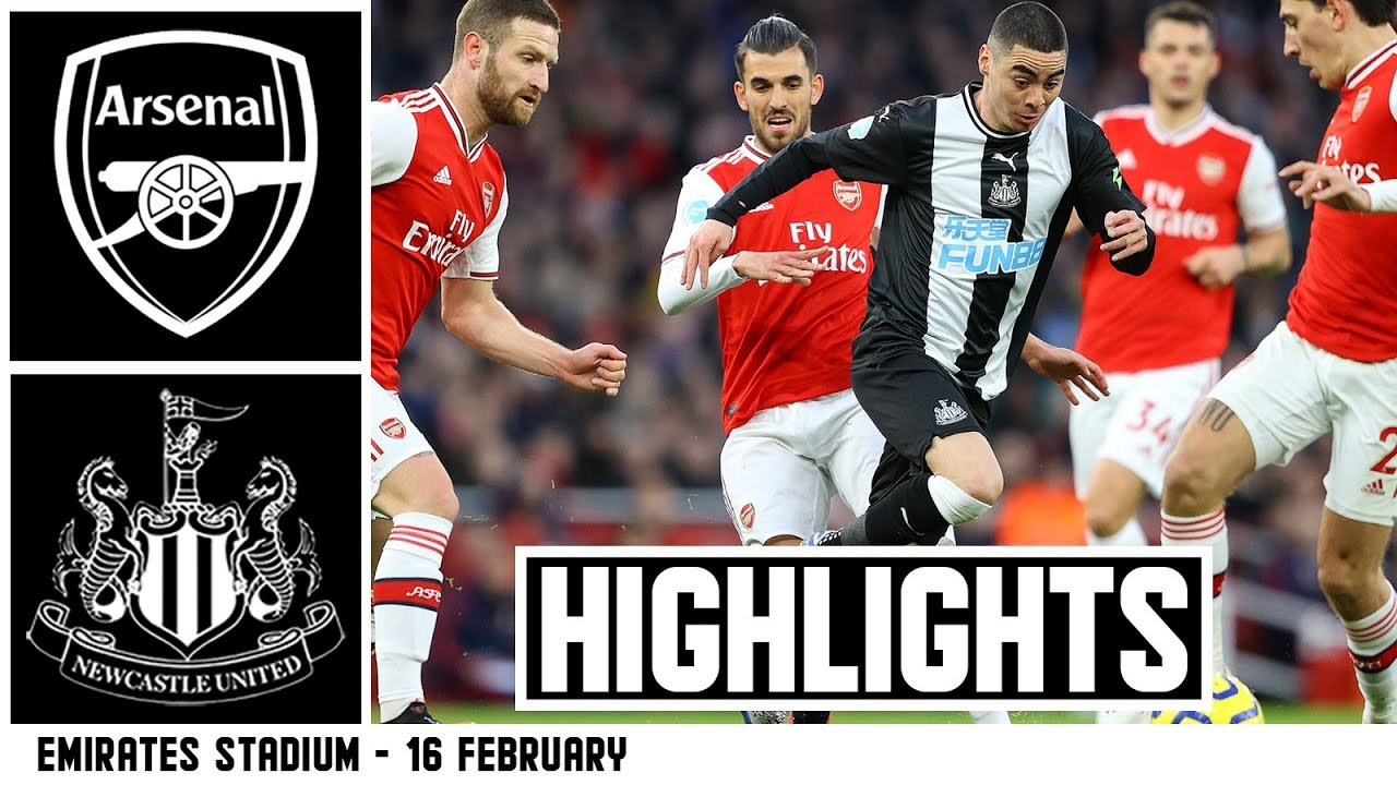 Arsenal 4 Newcastle United 0 Brief Highlights Youtube