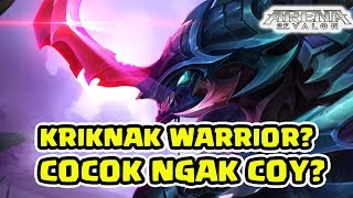 Kriknak Warrior! Nonton EJGaming dapat Ilmu! Sungguh Berfaedah! - Arena of Valor AOV