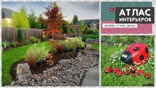 Камни в саду. Ландшафтный дизайн участка, украшения для сада и поделки из камней. Идеи для дачи