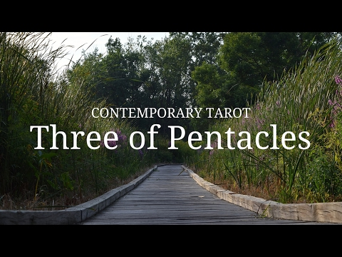 Three of Pentacles in 3 Minutes - YouTube