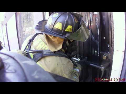 House Fire with Victims Trapped