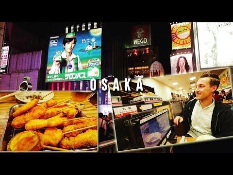 GOT THE MOST OUT OF OSAKA AREA - Osaka, Japan Vlog