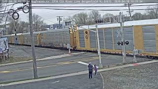 4- 18-2019 15:12 sb auto rack CSX 226, 7774 Q234
