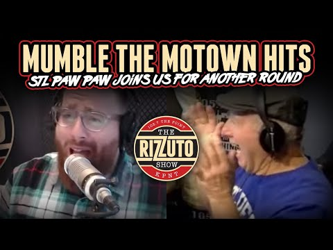 Mumble The MOTOWN Hits with STL Paw Paw [Rizzuto Show]