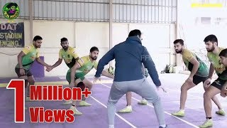 Patna Pirates Training Session for Next  Match | Running, Raiding, Defending, Stretching