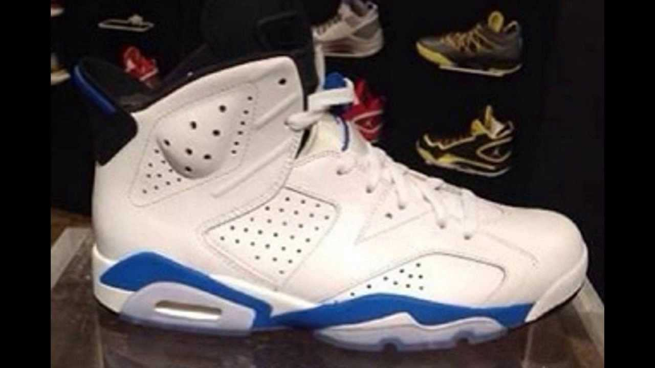 the latest 1cff7 7b7c4 Air Jordan 6 Sport Blue 2014 Release Info - YouTube