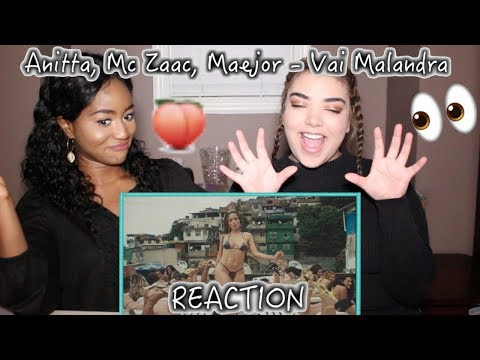 Anitta, Mc Zaac, Maejor ft. Tropkillaz & DJ Yuri Martins - Vai Malandra | REACTION