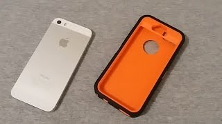 iPhone 5s Case Review And Installation..Is It Really An OtterBox?