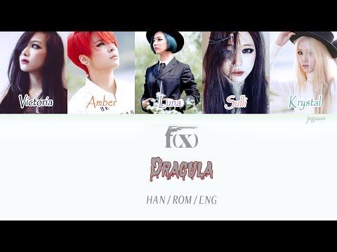F(x) - Dracula (Color Coded Hangul/Rom/Eng Lyrics)