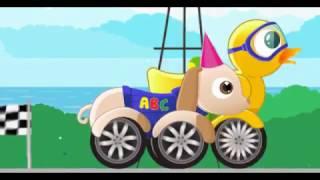 Мультик мультфильм про машинки гонки для мальчиков 1 2 3 4 5 лет. Играем в машинки гонки!