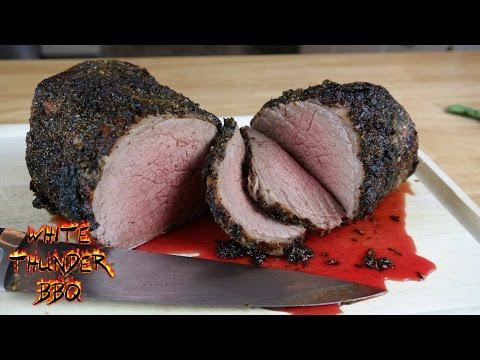 Herb Crusted Roast Beef Recipe   Eye Of Round Roast   White Thunder BBQ