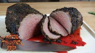 Herb Crusted Roast Beef Recipe | Eye of Round Roast | White Thunder BBQ
