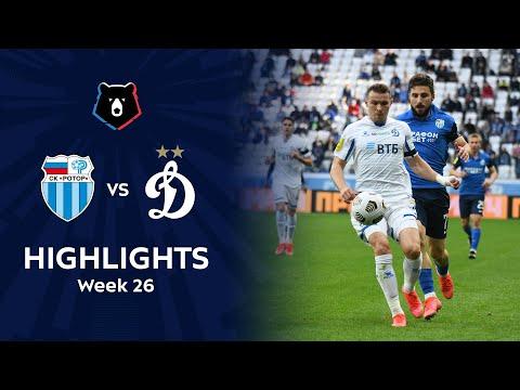 R. Volgograd Dinamo Moscow Goals And Highlights