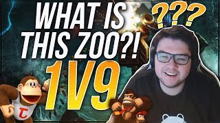 DYRUS • WHAT IS THIS GAME? AM I IN A ZOO?? RUMBLE 1V9!