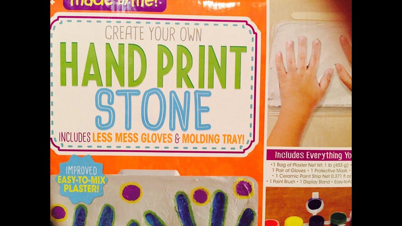 hand print stone kit fail youtube