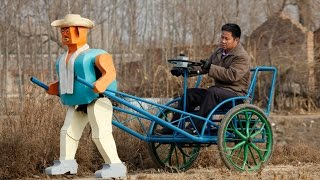 10 Unbelievable DIY Vehicles Made in China | China Uncensored